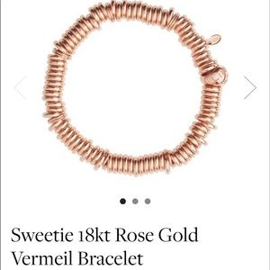 Jewelry - Links Of London Rose Gold Vermeil Bracelet 18kt